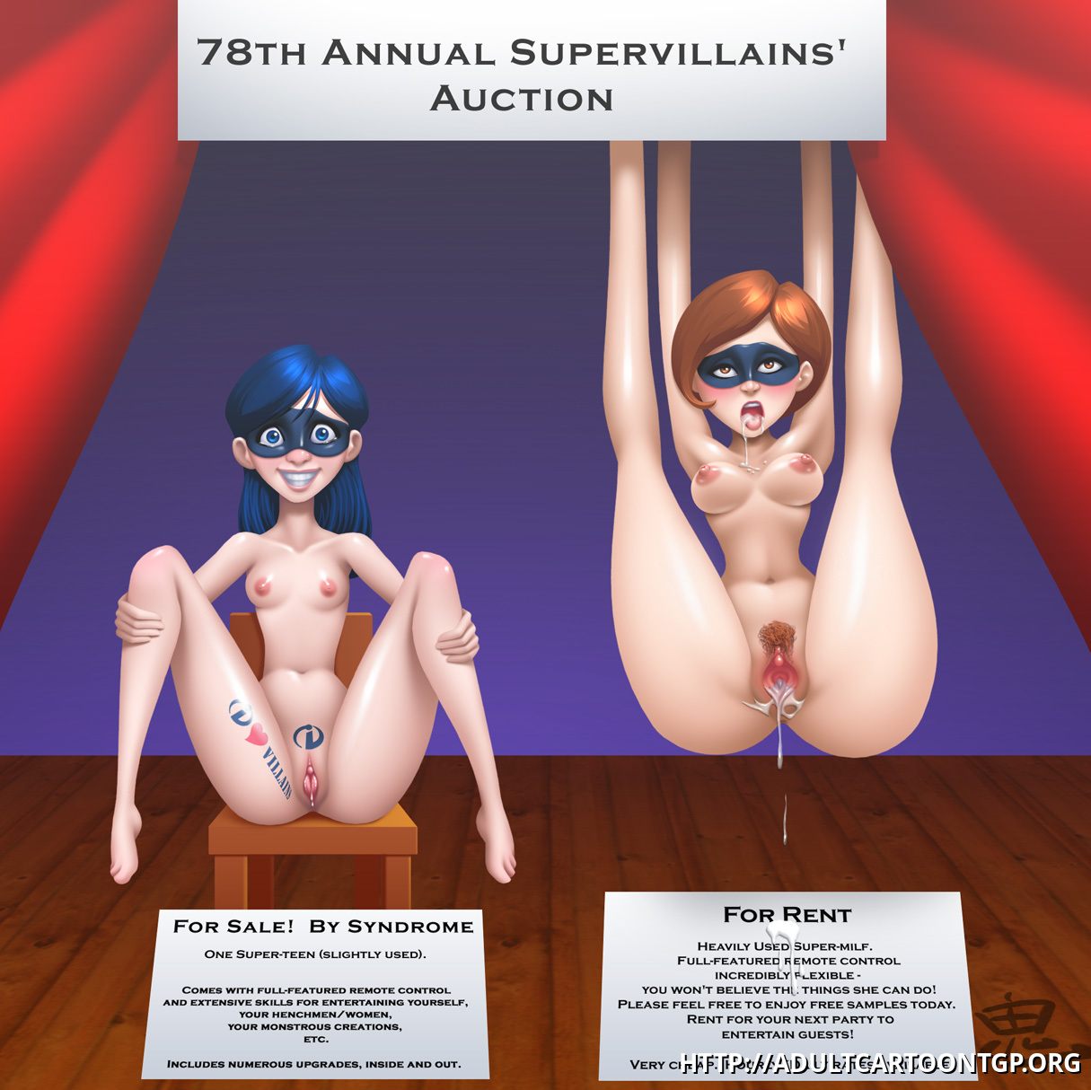 sexy naked girls incredibles